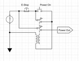 an emergency stop circuit emc2 mad penguin labs basic e stop circuit