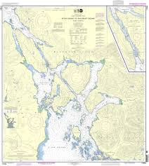 Southeast Alaska Nautical Charts Noaa Nautical Chart 17324 Sitka Sound To Salisbury Sound