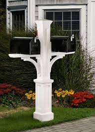 double mailbox post. Newport Plus Double Mailbox Post | All Mailboxes, Address Plaques, Yard \u0026 Graden Marvelous Mailboxes C