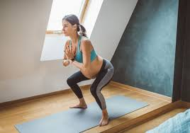is it safe to do squats while pregnant