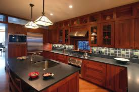 mission style island mission style island craftsman. Large Arts And Crafts U-shaped Medium Tone Wood Floor Kitchen Photo In Chicago With Mission Style Island Craftsman