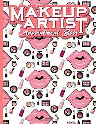 makeup artist appointment book 6 columns appointment maker appointment tracker hourly appointment planner