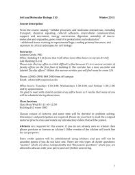 bio310 cell and molecular biology