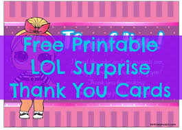 Surprise Images Free Lol Surprise Birthday Party Printables Archives Birthday Buzzin
