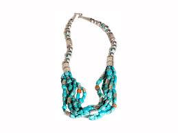 navajo bead designs. Navajo Pearls \u0026 Six Strands Of Turquoise Beads Bead Designs E