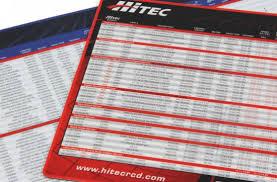 Servo Chart Servo Mat Application Chart