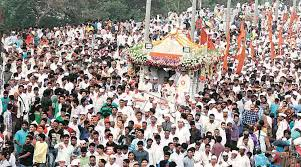 Image result for warkaris going to pandharpur image