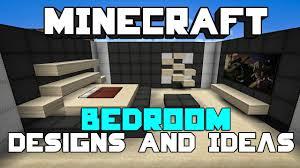 Modern Bedroom Minecraft Minecraft Bedroom Designs Ideas Youtube