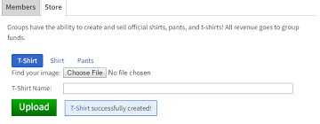 How To Upload A Shirt On Roblox Group Uploading Wont Let Me Edit Or Find Recent T Shirts I Created