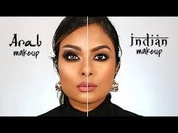 arab makeup vs indian makeup