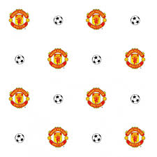 Manchester United Bedroom Wallpaper Decofun Manchester Utd Crest Wallpaper Mufc Official Wp40000