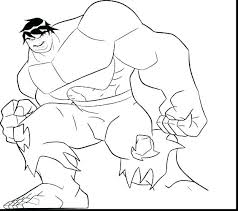 hulk coloring book pages colouring in color free avengers printable