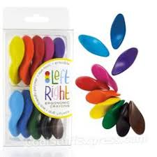 left right ergonomic crayons a fun gift for the little zebra in your life