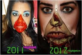 zombie makeup tutorial top 10 zombie make up tutorials top inspired