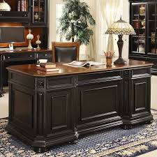 riverside furniture allegro executive desk in rubbed black amaazing riverside home office executive desk