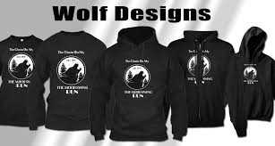 Best Black Shirt Design Best Designs Of Black Wolf T Shirts Wolf Style Shop And