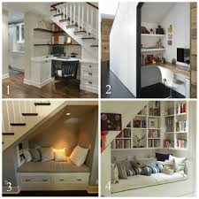 office under stairs. Under Stairs Home Office Or Reading Nook