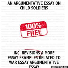 argumentative essay on child iers an argumentative essay on child iers