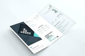2 Folded Brochure Template 2 Fold Brochure Template Z Free 1 Download Psd Photoshop