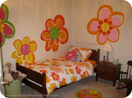 On The Wall Painting Remodelaholic Hand Painted Flowers For Little Girls Room