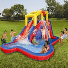 Backyard Water Slide 15 Ft Inflatable Backyard Water SlideWater Slides Backyard