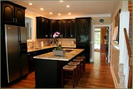 Maple Kitchen Cabinets With Black Appliances Cabinet 49784 Home