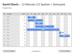 Gantt Chart Template 10 Best Images Of Month Gantt Chart Template Gantt Chart