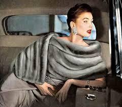 suzy parker vintage fur