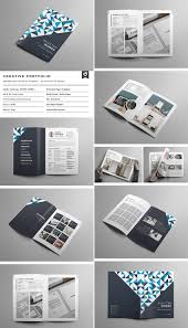 Business Portfolio Template 013 Creative Business Portfolio Brochure Indesign Template