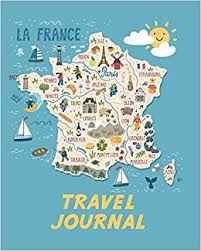 Animated Travel Map Travel Journal Map Of France Kids Travel Journal Simple