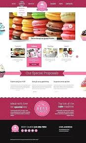 Cake Website Template Baker Website Templates From Free Template