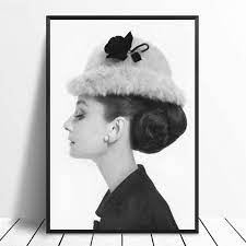 Lazy Wings Audrey Hepburn Poster Wall ...