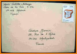 3 4 Letter Envelope Example Artresumes Com