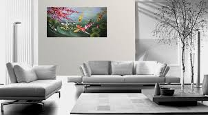 com anese koi art wall art framed art feng s fish painting 1 576 oil paintings posters prints