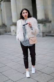 how to wear faux fur outerwear 2019