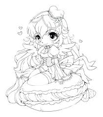 Cute Chibi Girl Coloring Pages Lovely Anime Coloring Pages Best Cute