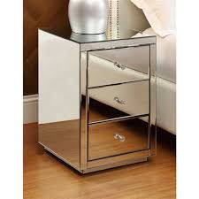 vegas white glass mirrored bedside tables. Mirrored Bedside Table And Dresser Furniture Package Vegas White Glass Tables T