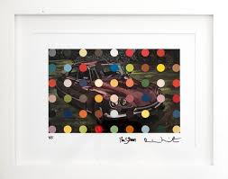 paddle8 spots car painting damien hirst