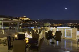 athens dining bar restaurant at titania central hotel