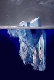 Image result for iceberg mountains below the water