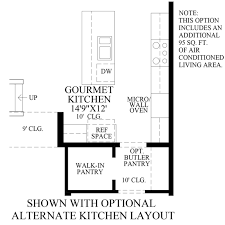 fascinating house plans with large walk in pantry images
