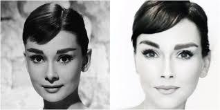 audrey hepburn makeup transformation how to do audrey hepburn s makeup tutorial