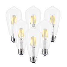 3d Light Bulb 2017 New Version Christmas 3d Light Bulb Led Christmas Decorative Light Indoor Christmas Tree Lamp Gift For Christmas 4w 2700k 6pcs
