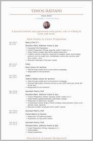 Banquet Chef Resume Magnificent Pastry Cook Resume Examples Free Download