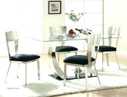 counter height extendable dining table set round glass top and chairs kitchen