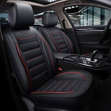 leather car seat covers waterproof mat auto cushion car accessories for toyota prius 20 30 highlander