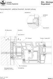Al Bohn Al Bohn Ral Montage Regeldetail Fenster Systeme