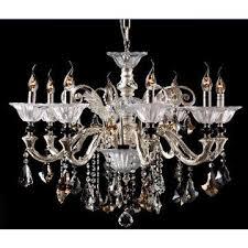 crystal copper chandelier lighting pendant light fixtures