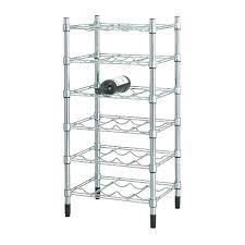 shelves on wheels ikea heavy bottle chrome galvanised wire wine rack cellar storage unit drawers wire shelves on wheels ikea
