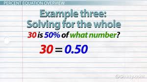 Coefficient Frayer Model Percent Equation Definition Example Video Lesson Transcript